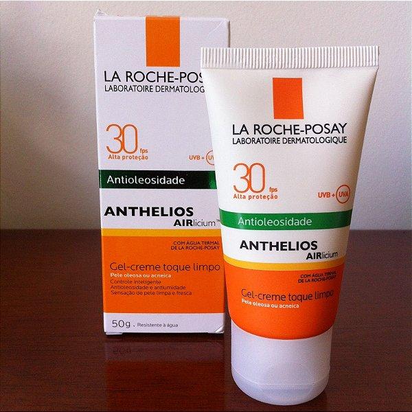 Protetor Solar Antioleosidade Anthelios Airlicium FPS 30 Gel-Creme