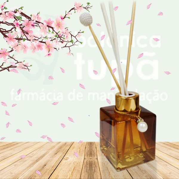Difusor de Ambiente Com Aroma Flor de Cerejeira