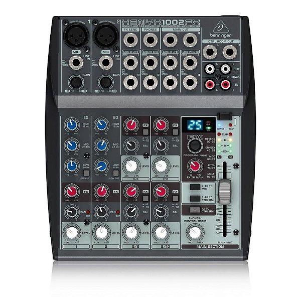 Mesa de Som Behringer Xenyx 1002FX com 10-input e Efeitos