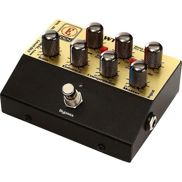 Pedal para Contrabaixo Eden WTDI Pré-ampificador com Direct box