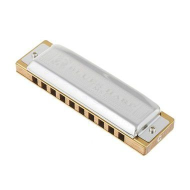 Harmônica Diatônica Hohner Blues Harp F (Fá) Gaita de boca M533066