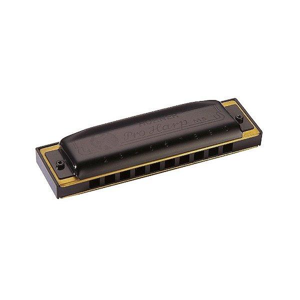 Harmônica Diatônica Hohner Pro Harp G (Sol) Gaita de Boca M564086