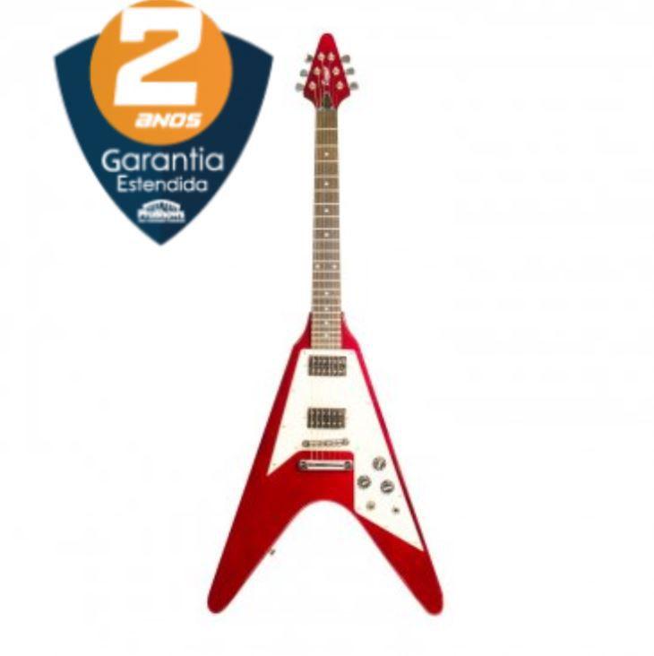 Guitarra Flying V Wine Red Benson V-ROD WR