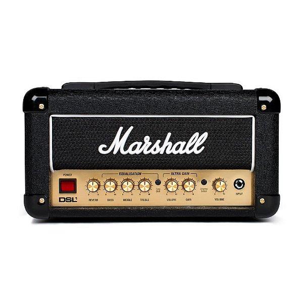 Amplificador Valvulado Marshall DSL1HR Cabeçote para Guitarra 1W