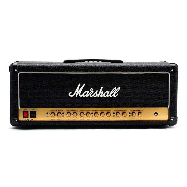 Amplificador Valvulado para Guitarra Marshall DSL100HR-B Cabeçote 100W