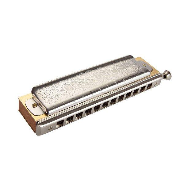Harmônica Hohner Chromonica Deluxe 7540/48 C