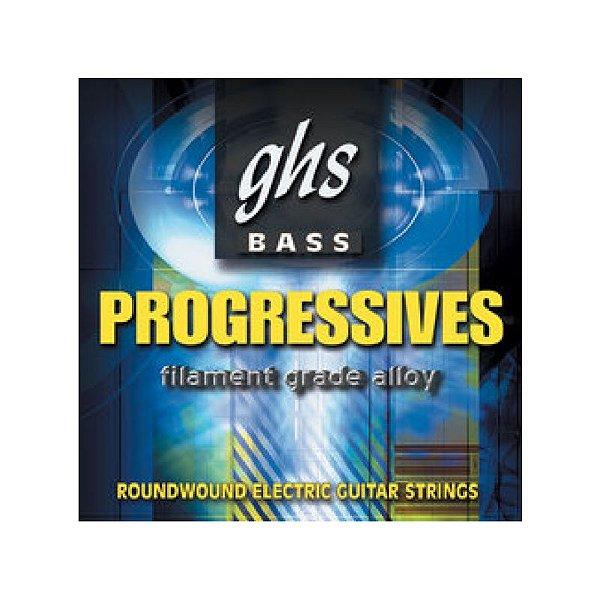 Encordoamento para Contrabaixo GHS 5L8000 Light (Escala Longa) Série Bass Progressives (contém 5 cordas)