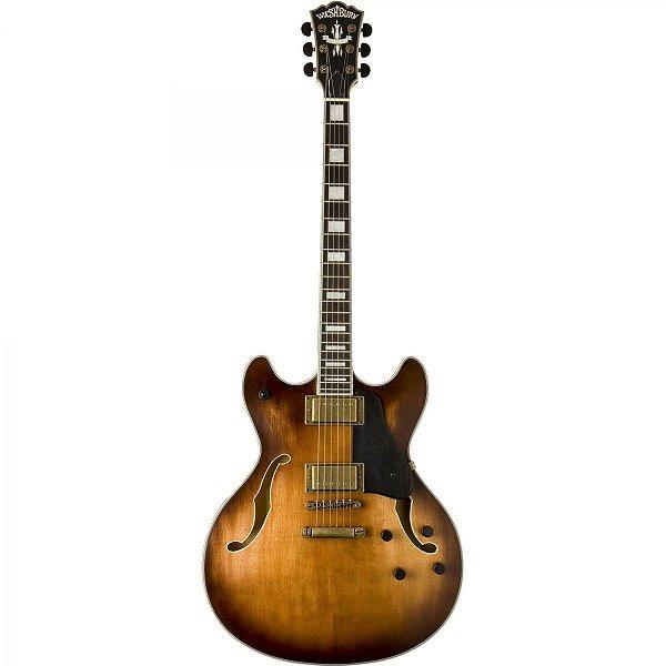 Guitarra Semiacústica Washburn HB36 Hollowbody Vintage