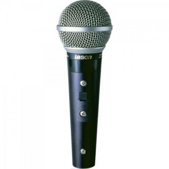 Microfone Profissional Com Fio Supercardióide SM58 PLUS LESON