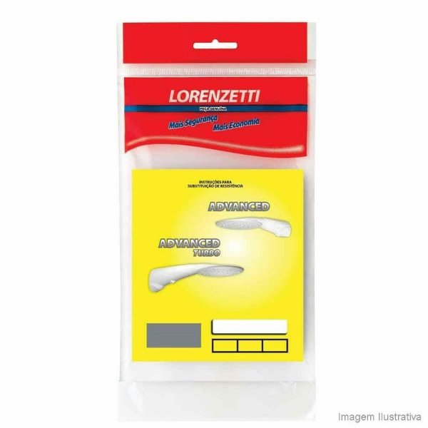RESISTÊNCIA LORENZETTI ADVANCED, ADVANCED TURBO, TOPJET 220V