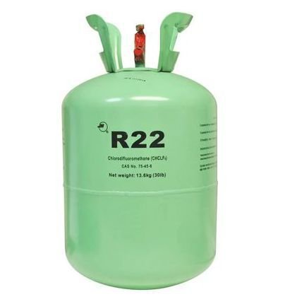 GAS REFRigerante. FREON R22  CLORODIFLUORMETANO 13,6kg