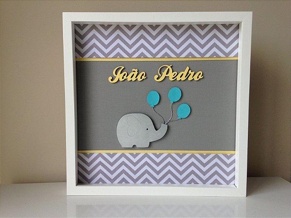 Porta de Maternidade Elefantinho com Balões