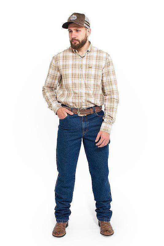 Calça Jeans Masculina Country Carpinteiro Pura Raça 4516
