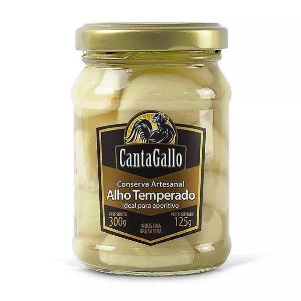 Alho Temperado - Conserva Artesanal - Cantagallo
