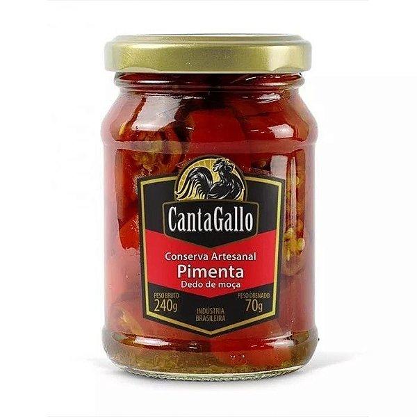 Pimenta Dedo De Moça - Conserva Artesanal - Cantagallo