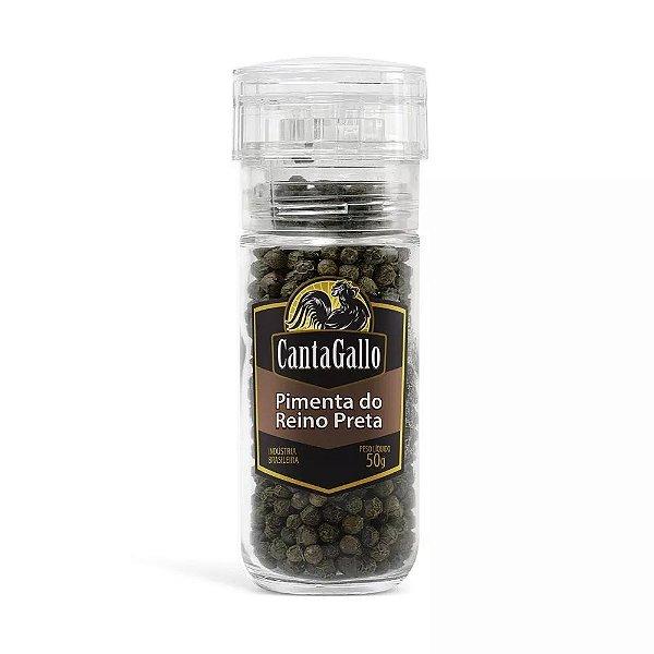 Pimenta do Reino Preta (moedor Reutilizável) - Cantagallo 110g