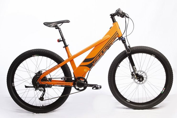 Bicicleta Elétrica Move Your Life Extreme - 36V 350W - Laranja fosco