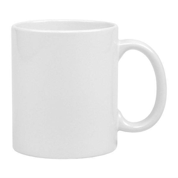 Caneca Branca Para Sublimação 325ML (11OZ) - CLASSE AAA.