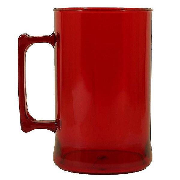 Caneca para Chopp 450ml - Vermelha Neon