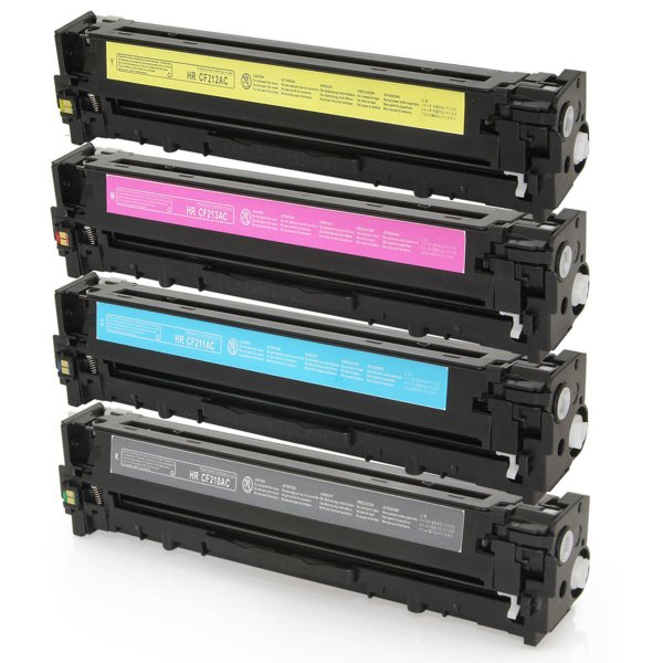 Kit Tonner HP M252dw - 4 Cores