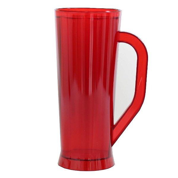 Caneca Long - Vermelho Neon