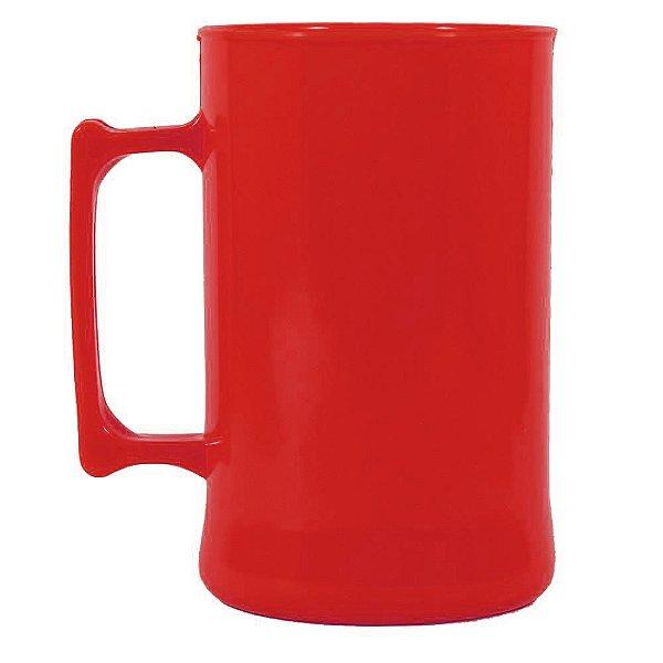 Caneca para Chopp 450ml - Vermelho
