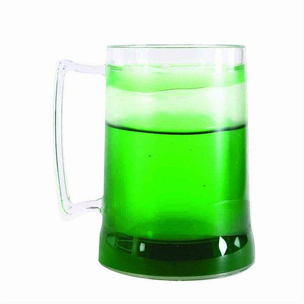Caneca de Chopp com Gel 300ml - Verde