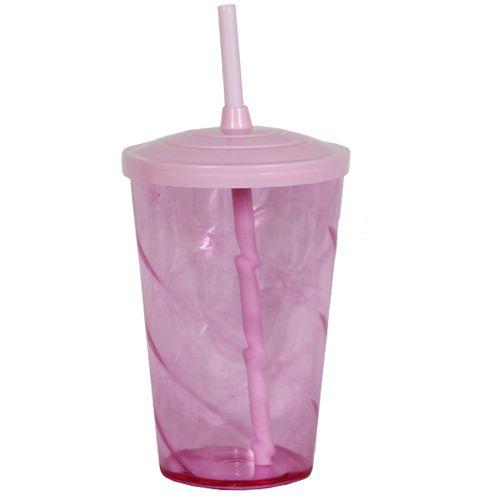 Copo Euphoria Twister 700ml - Rosa Bebê Neon