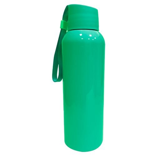 Squeezer Plástico 500ml com Cordão - Verde