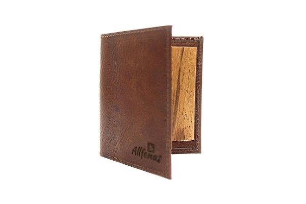 Porta Cartão Slim - Coffee