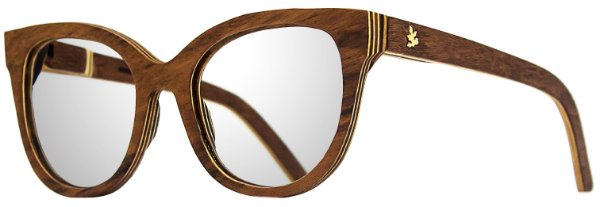 Óculos Flor Grau