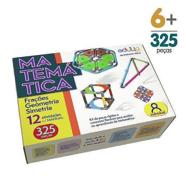 Brinquedo Educativo Edulig Matemática Individual - 12 atividades com Manual