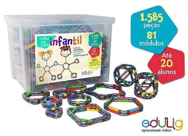 Brinquedo Educativo Edulig Educação Infantil