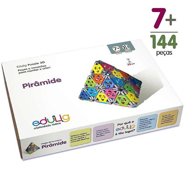 Quebra-cabeça Edulig Puzzle 3D Pirâmide