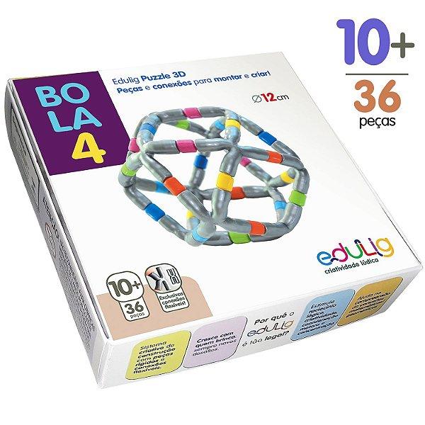 Quebra-cabeça Edulig Puzzle 3D Bola 4