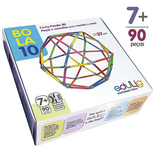 Quebra-cabeça Edulig Puzzle 3D Bola 10