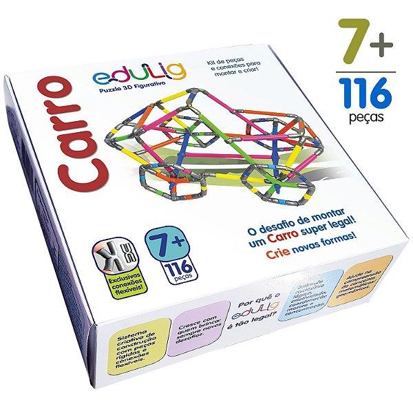 Quebra-cabeça Edulig Puzzle 3D Carro