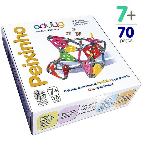 Quebra-cabeça Edulig Puzzle 3D Peixinho