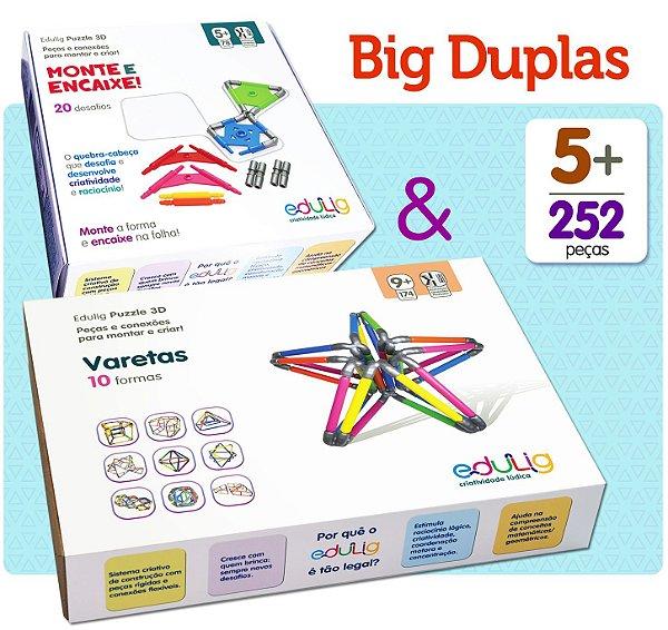 Big Duplas Edulig: Monte e Encaixe & Varetas