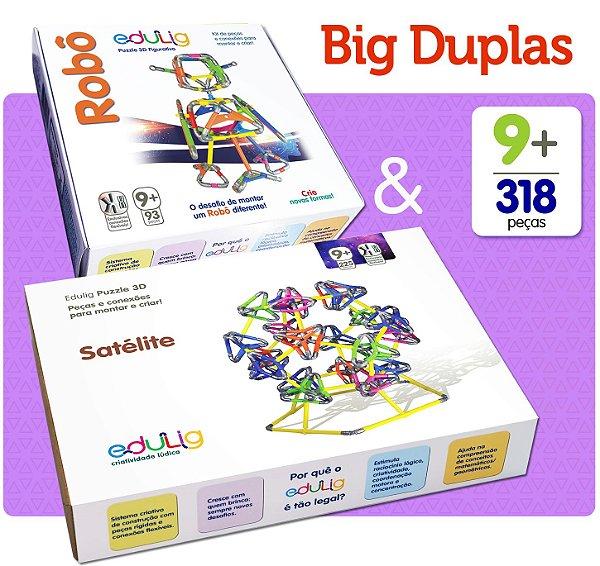 Big Duplas Edulig: Robô & Satélite