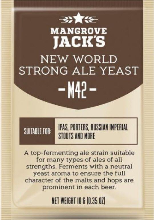 Fermento Mangrove Jacks - M42 - Strong Ale