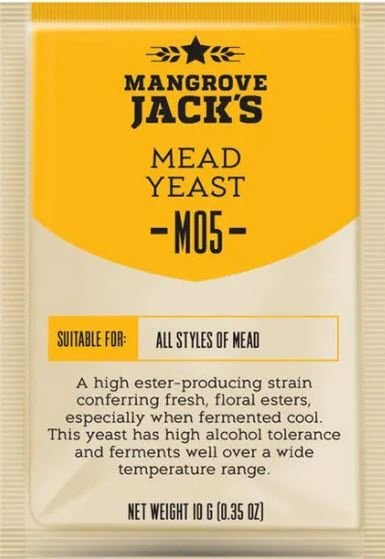 Fermento Mangrove Jacks - M05- Mead Hidromel