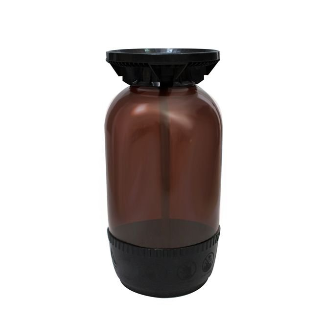 Barril Plástico Modelo Smart 16l Marrom Tipo S - PolyKeg®