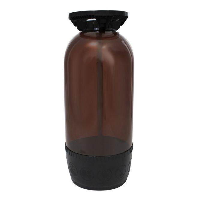 Barril Plástico Modelo Smart 30l Marrom Tipo S - PolyKeg®