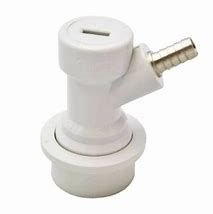 Conector Ball Lock Gas - Cinza