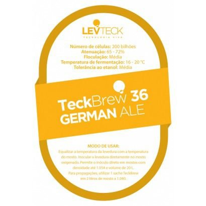 Fermento Levteck - Teckbrew 36 - German Ale