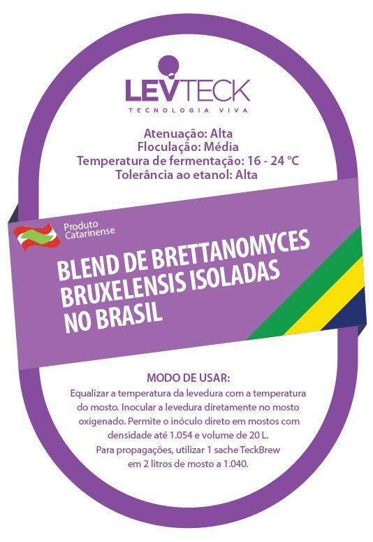 Fermento Levteck - Teckbrew - Blend de Brettanomyces Bruxelensis Isoladas no Brasil