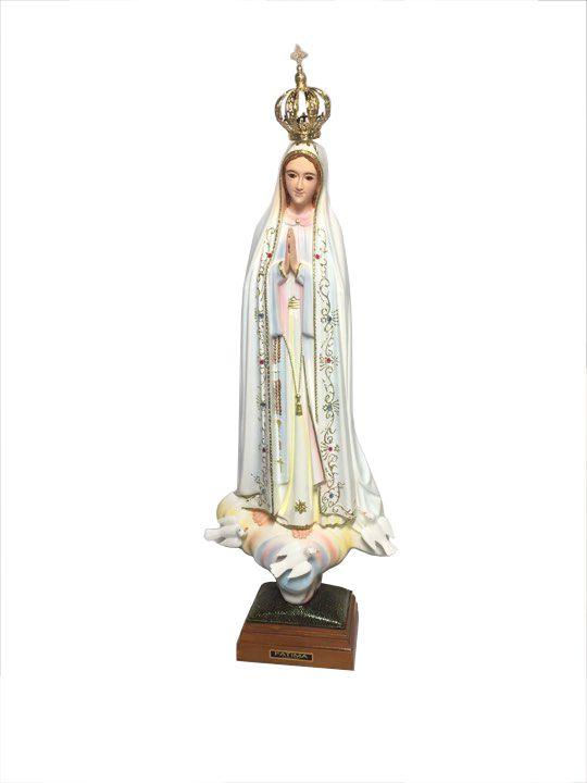 Imagem de Nossa Senhora de Fátima Importada 55cm