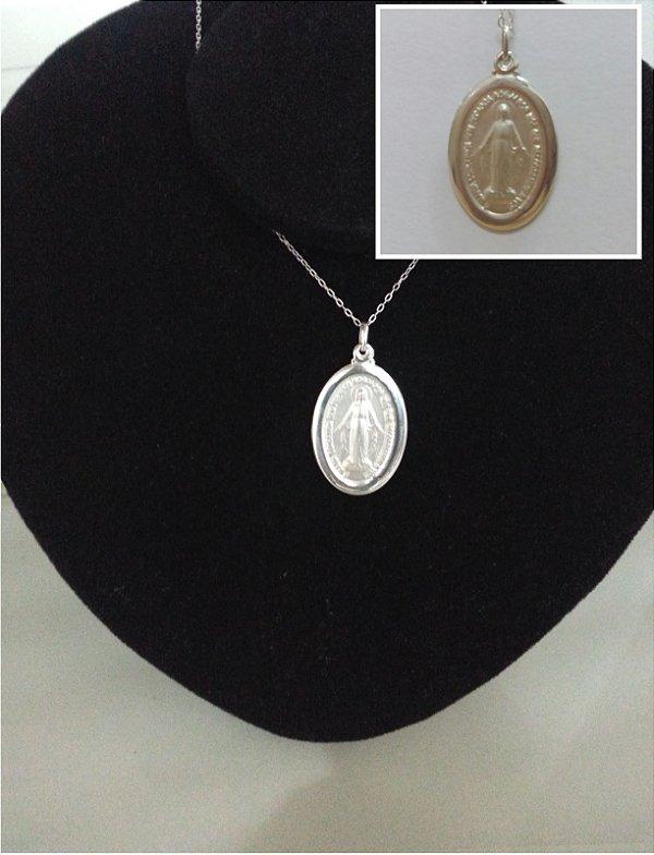 Medalha Nsra Milagrosa em Prata (Produto Esgotado)