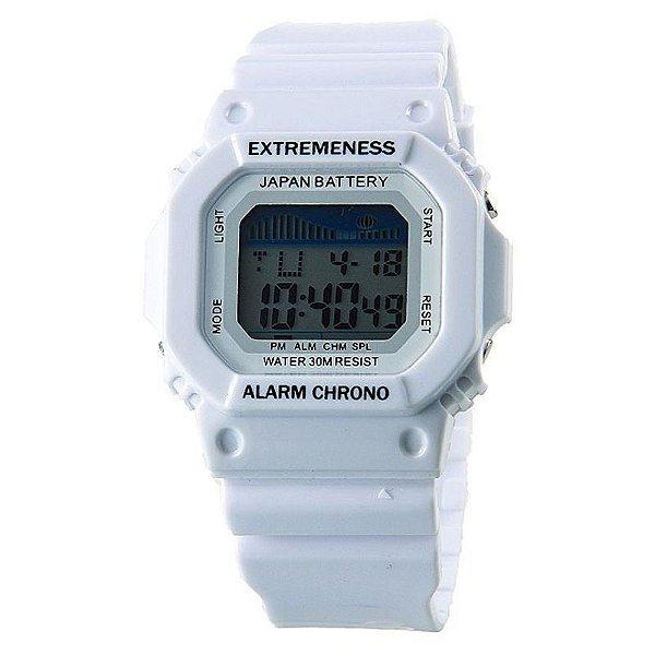 c80cbcb1a5a Relógio Skmei Digital 6918 Branco - ShopSublime - Aqui tem o melhor ...
